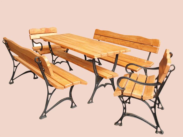 08e3507e79ab6 GIGA záhradný drevený set Marika   záhradný nábytok - detské hračky